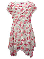 NWOT Joe Browns 'Day to Night Blouse' Cream & Red Floral Lined Blouse in Size 16