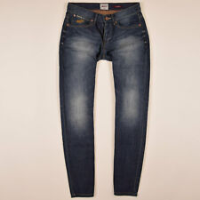 Superdry Herren Hose Freizeithose Gr.W31 Jeans Loose Vintage Blau 77843