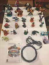 Wii Skylanders Giants Lot Game, Figures, Portal Huge 25 Figures Eye Brawl