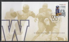 CANADA #2573 THE 100TH GREY CUP GAME - WINNIPEG BLUE BOMBERS FIRST DAY COVER
