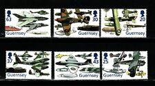SELLOS AVIACION GUERNESEY 1998 779/84 AVIONES 6v.