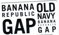 Gap, Old Navy, Banana Republic collectible bilingual GIFT CARD NO VALUE NEW