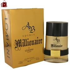 Lomani Spirit Millionaire Cologne Men Perfume Eau De Toilette EDT Spray In Box