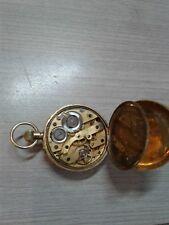 Gold 18k Pocket Watch Antique, solid 18k gold, marked 750. 27.8g weight,