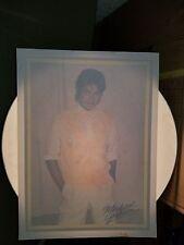 Vintage Michael Jackson Iron On Transfer ~ King Of Pop