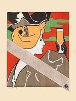 ADVERT KOEKELBERG BREWERY BEER DOUBLE BOCK BELGIUM POSTER ART PRINT BB1853A