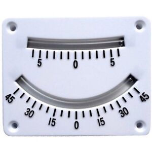 White twin scale Clinometer,dinghies and small cruisers & 4x4 off road, Kayaks