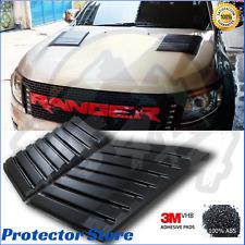 Ford Ranger PX 2012-2018 PX1 MK2 Raptor Style Bonnet Scoop Air Vent Trim