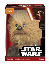 """STAR WARS DELUXE Chewbacca 15"""" PARLANTE PELUCHE GIOCATTOLO"""
