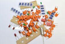 ELECTRONIC COMPONENTS ASSORTMENT -  TANTALUM CAPACITORS, BEAD CAPACITORS -100pk