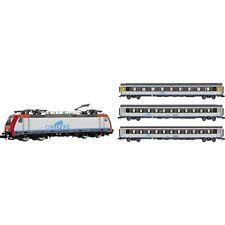 Locomotoras de escala N grises Arnold para modelismo ferroviario