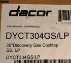 """Dacor DYCT304GS/LP 30"""" Propane Cooktop, Stainless Steel photo"""