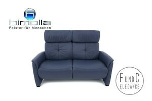 Himolla Cumuly 4926 Garnitur Relaxsofa Sofa Leder  blau