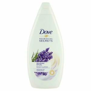 Dove Relaxing Ritual Lavender Oil And Rosemary Extract Body Wash 1 Pack 500Ml QD