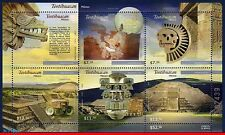 2727 Mexico 2010 - TEOTIHUACAN, ARCHAEOLOGY, HERITAGE OF HUMANITY, S/S MNH