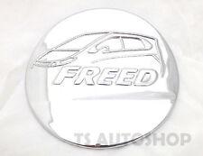 Chrome Cover Fuel Oil Cap Tank Trim Fit Honda Freed 4 Dr Hatchback 10 12 14 15