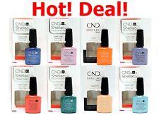ON SALE! CND Shellac GelColor 0.25fl.oz UV/LED Nail Polish Choose Color*