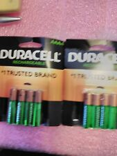 DURACELL RECHAREABLE AAA4 x 2