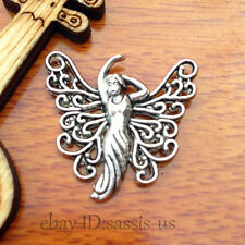 20pcs 25mm charms Tibet Silver Angel Maria Pendant DIY Jewelry necklace A7537