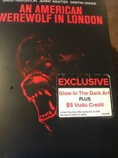 An American Werewolf in London (Dvd) New Glow in the Dark Slipcover