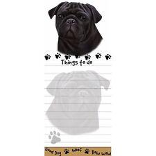 Red Yellow Cool Notes con perro carlino de teNeues Pug Journal