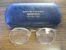 Vintage Fancy Gold Rim Reading Glasses w/ Case 1/10 - 12KGF