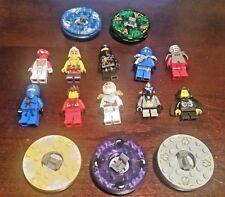 Lego Ninjago lot of 10 Minifigures Cole,Jay,Zane, Kendo Kai, Bytar, Lloyd Garmad