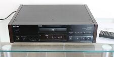 TOP SONY CD Player CDP X707 ES schwarz mit Holzseiten silber gold 505 779 777