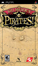 Sid Meier's Pirates (Sony PSP, 2007) excellent, complete & tested