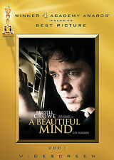 A Beautiful Mind DVD New Sealed Russell Crowe Two-Disc Awards Special Edition
