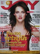rare serbian JOY magazine KRISTEN STEWART Michael Fassbender Collectible!
