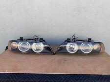 01-03 BMW E39 5series 525i 530i M5 Set of 2 OEM Xenon Headlights Assembly