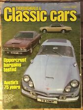 Thoroughbred & Classic Cars Magazine - August 1981