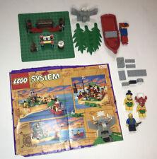 LEGO Pirates Set 6262 - Vintage King Kahuka's Throne InComplete w/ Box Cutout!