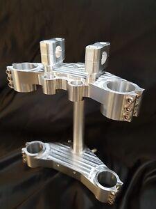 Kawasaki Z900 to Bandit front end conversion Billet Fork Yokes Triple Trees