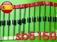 SB5150 sb 5150 150V 5A MBR5150 schottky diodo sr5150 A envío rápido desde España