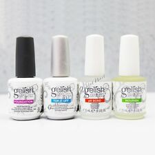 Harmony Gelish Fantastic Four 4pc .5oz Kit: BASE +TOP Coat +pH BOND &Nourish OIL