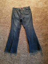 New York & Company West Side Dark Blue Jeans Bootcut Pettite 10
