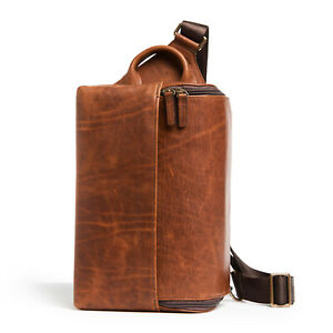 ONA Leather Rockaway Sling Camera Bag (Antique Cognac) > Handcrafted excellence