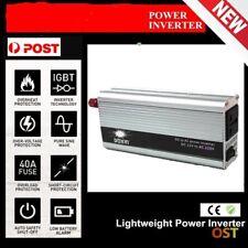 4000W Peak Modified Sine Wave Power Inverter DC 12V to AC 220V Car Caravan CN