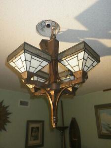 Hampton Bay Tiffany Style 4 Light Chandelier