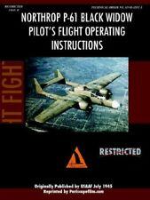 Northrop P-61 Black Widow Pilot's Flight Manual, Film.com 9781411689008 New,