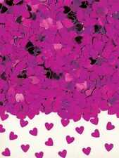 Purple Hearts Table Confetti 28g