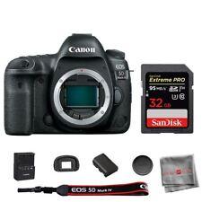 Cámara SLR Canon EOS 5D Mark IV Digital cuerpo Sandisk 32GB Tarjeta de memoria SDHC