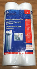 Genuine GE SmartWater FXUSC Replacement Water Filters Pack Of 2 Open Packaging