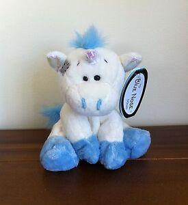 "Me To You My Blue Nose Friends Legend the Unicorn Soft Plush Toy 4"" No 44 Ltd Ed"