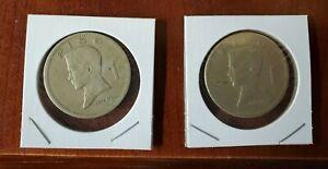 PAIR of Philippines 1 Piso 1972 Jose Rizal  Republika Ng Pilipinas Coins