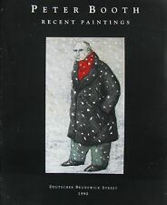 "PETER BOOTH ""RECENT PAINTINGS"" CATALOGUE AS NEW 1990"