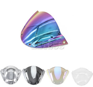 5 Color ABS Windshield WindScreen For Ducati M1000 Monster 696 659 795 796