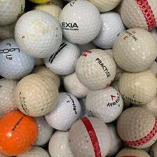 100 CHEAP GOLF BALLS - ONE HIT LEFT - KNOCK AWAY - PRACTICE - USED LAKE BALLS